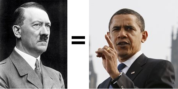How is Obama like Hitler?