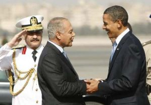 Egyptian Foreign Minister meets Barack Hussein Obama